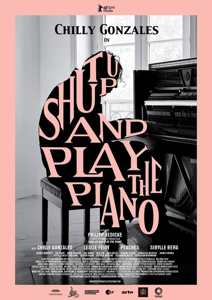 Chilly Gonzales: SHUT UP AND PLAY THE PIANO